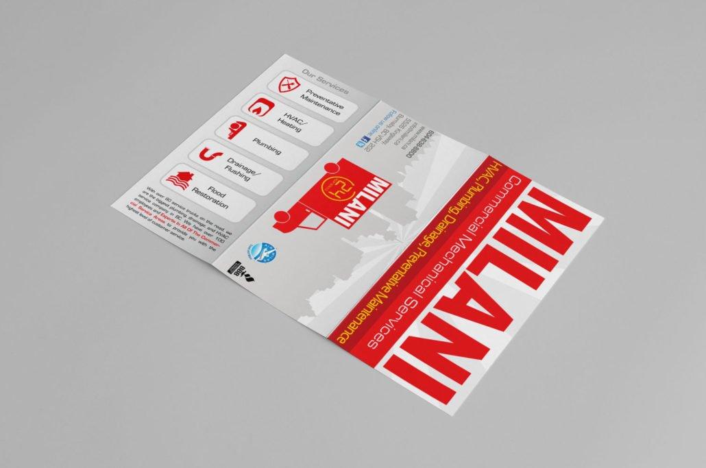 Burnaby Brochure Design - Milani