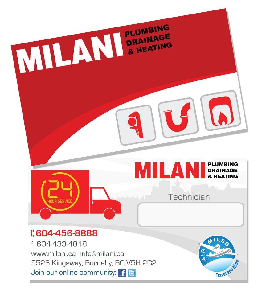Burnaby Business Card Design - Milani