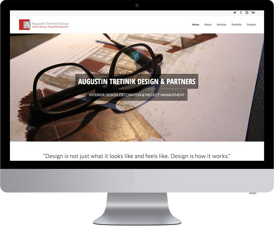 Vancouver Website Design - Augustin Tretinik Design