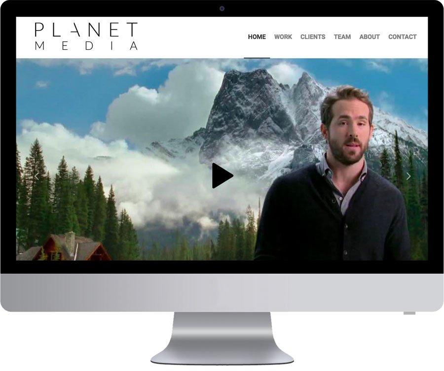 Vancouver Web Design - Planet Media House