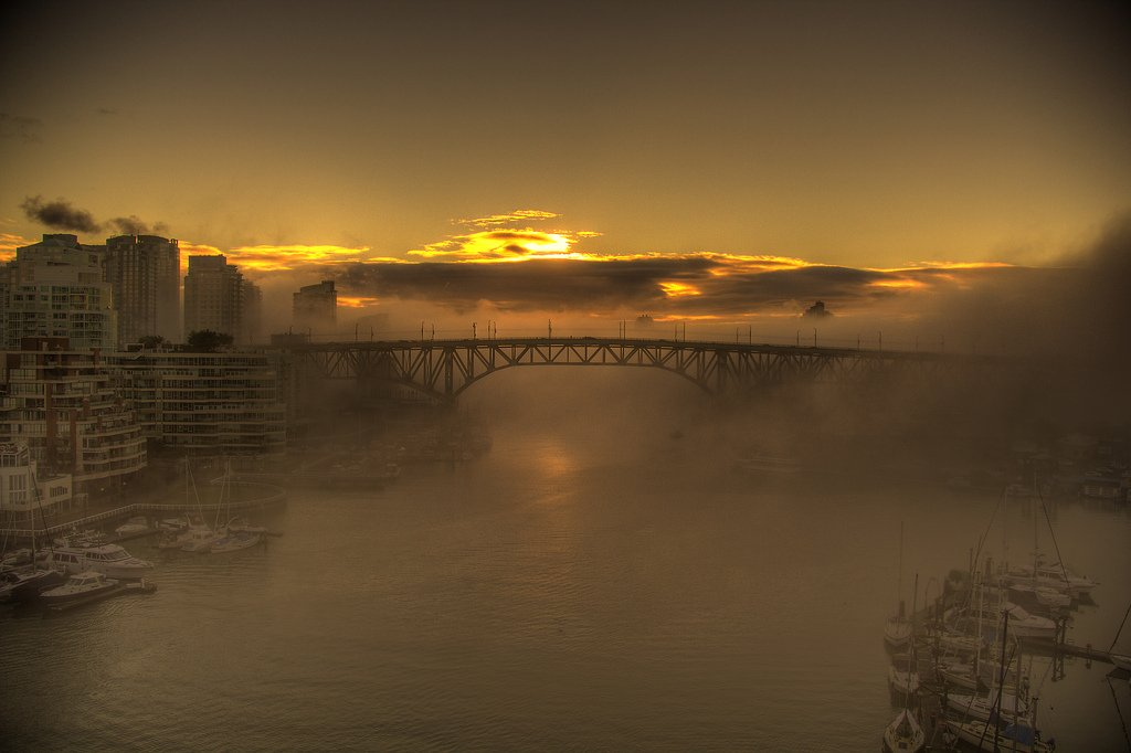 Vancouver Sunrise Photography Onur Kurtic