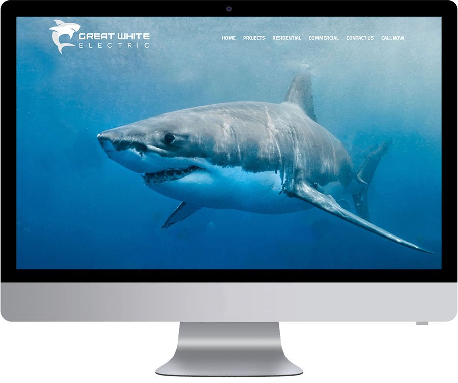 Vancouver Web Design - Great White Electric