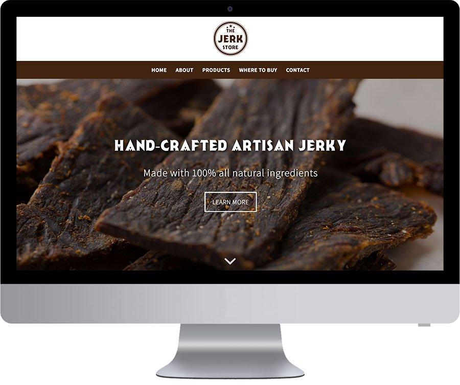 Vancouver Website Development - Jerk Store