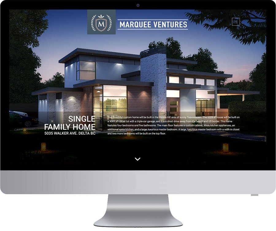 Vancouver Website Design - Marquee Ventures