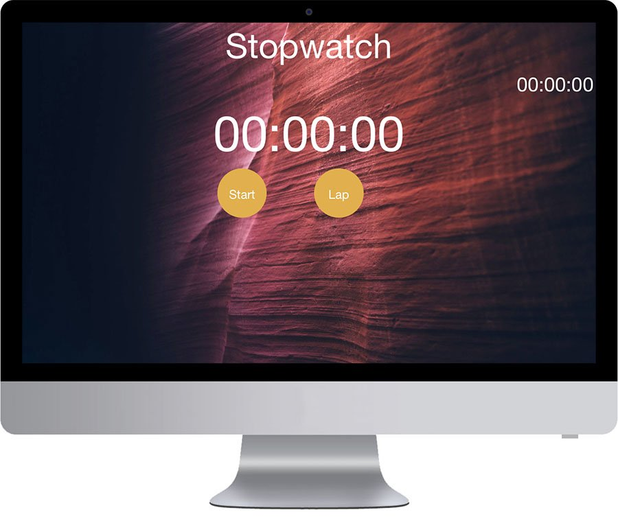 Vancouver Web Application Design - Stopwatch