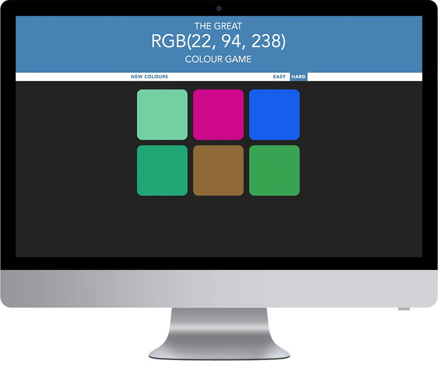 Vancouver Web Application Development - RGB Colour Game
