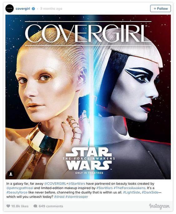 Lucasfilm & Covergirl