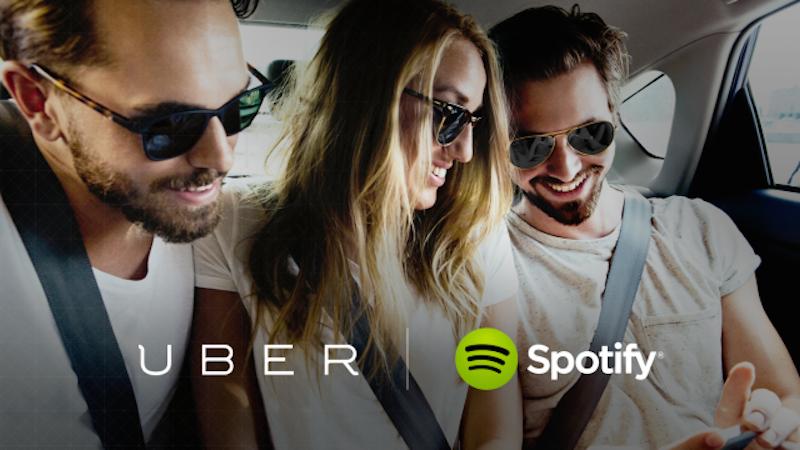 Uber & Spotify