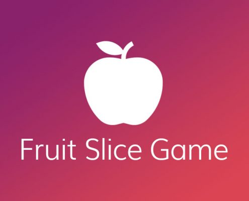 Application Development Fruit Slice Game