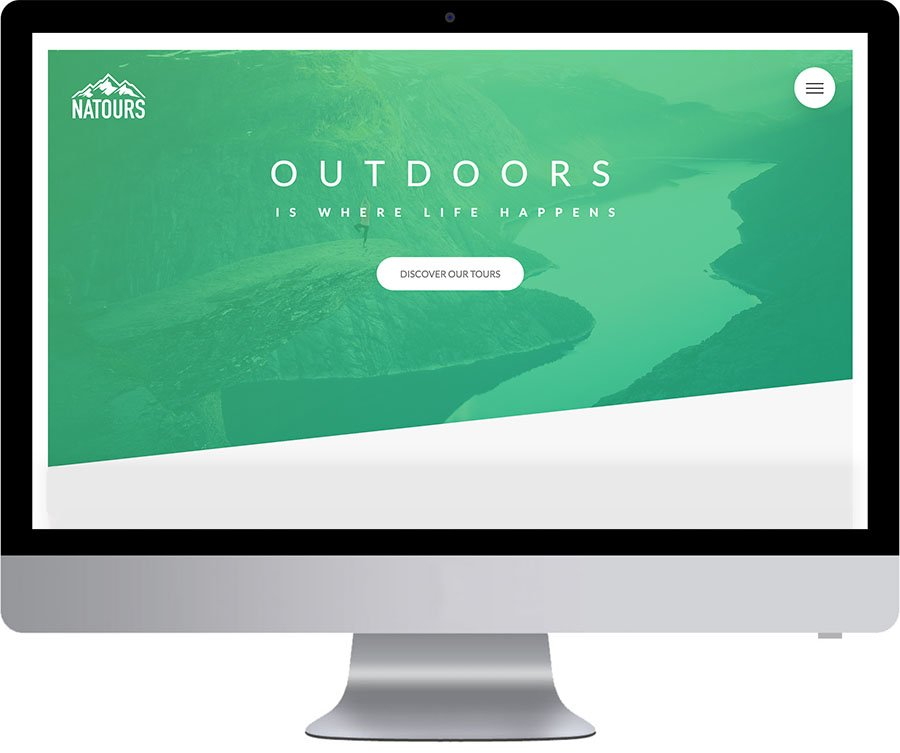 Vancouver Website Development - Natours