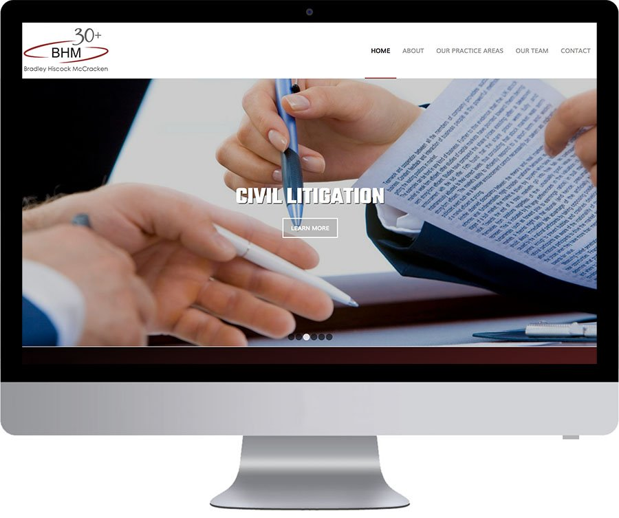 Ottawa WordPress Web Design - BHM Law
