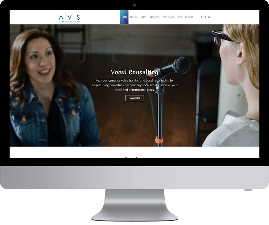 Vancouver Website Design - AVS