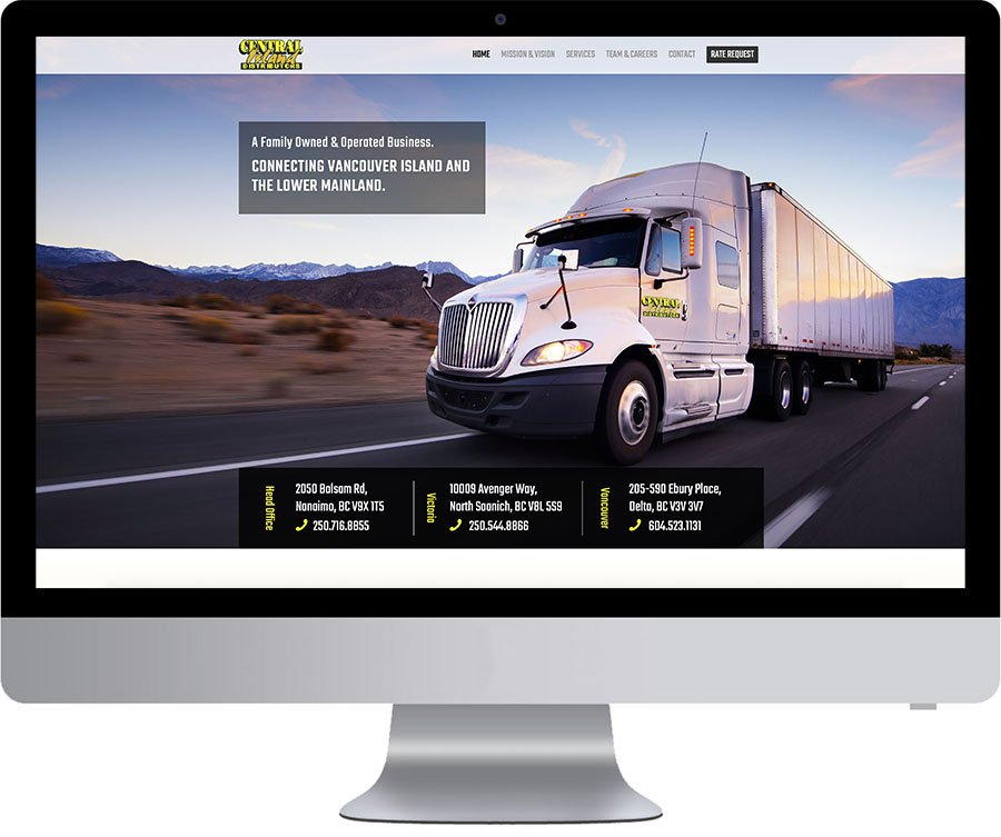 Nanaimo Website Development - CID