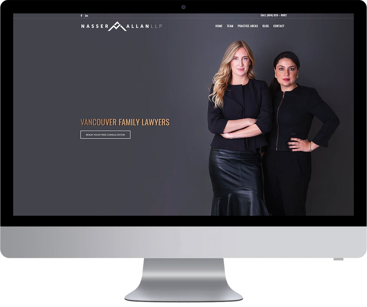 Vancouver WordPress Website Development - Nasser Allan LLP