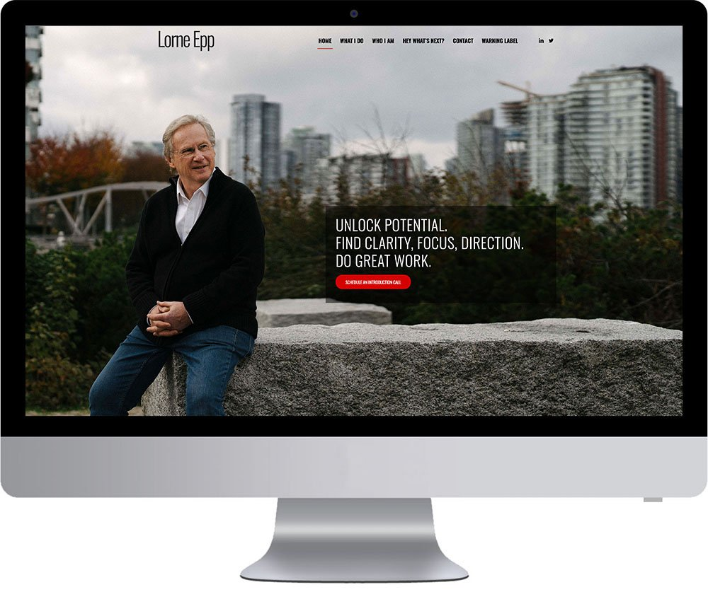 Vancouver Website Development - Lorne Epp