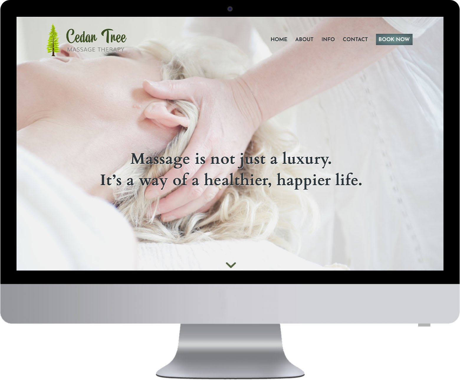 Vancouver Website Development - Cedar Tree Massage Therapy