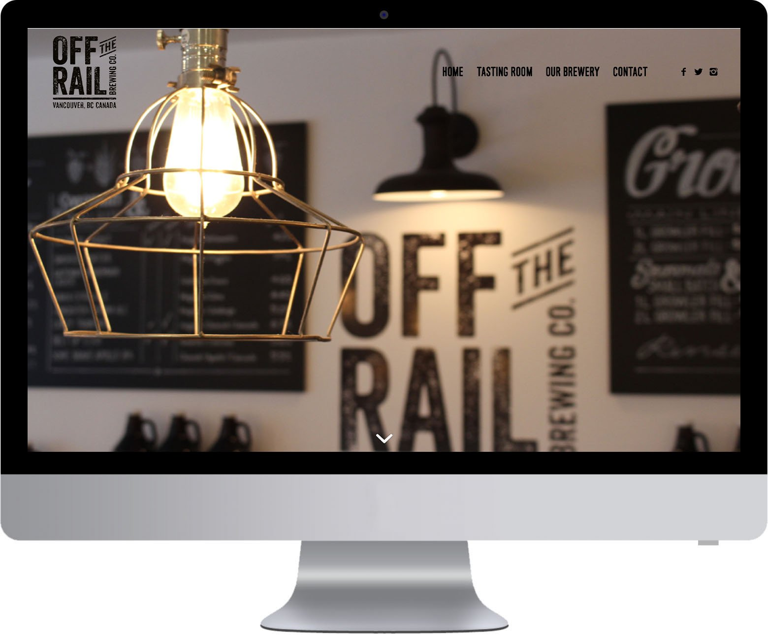 Vancouver WordPress Web Development - Off The Rail Brewing