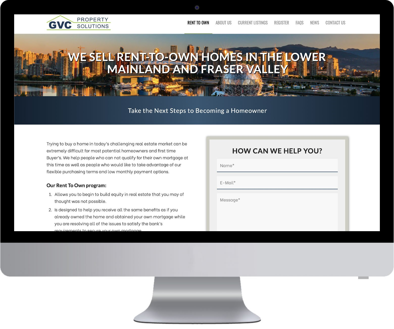 West Vancouver Website Development - Ready Set Own