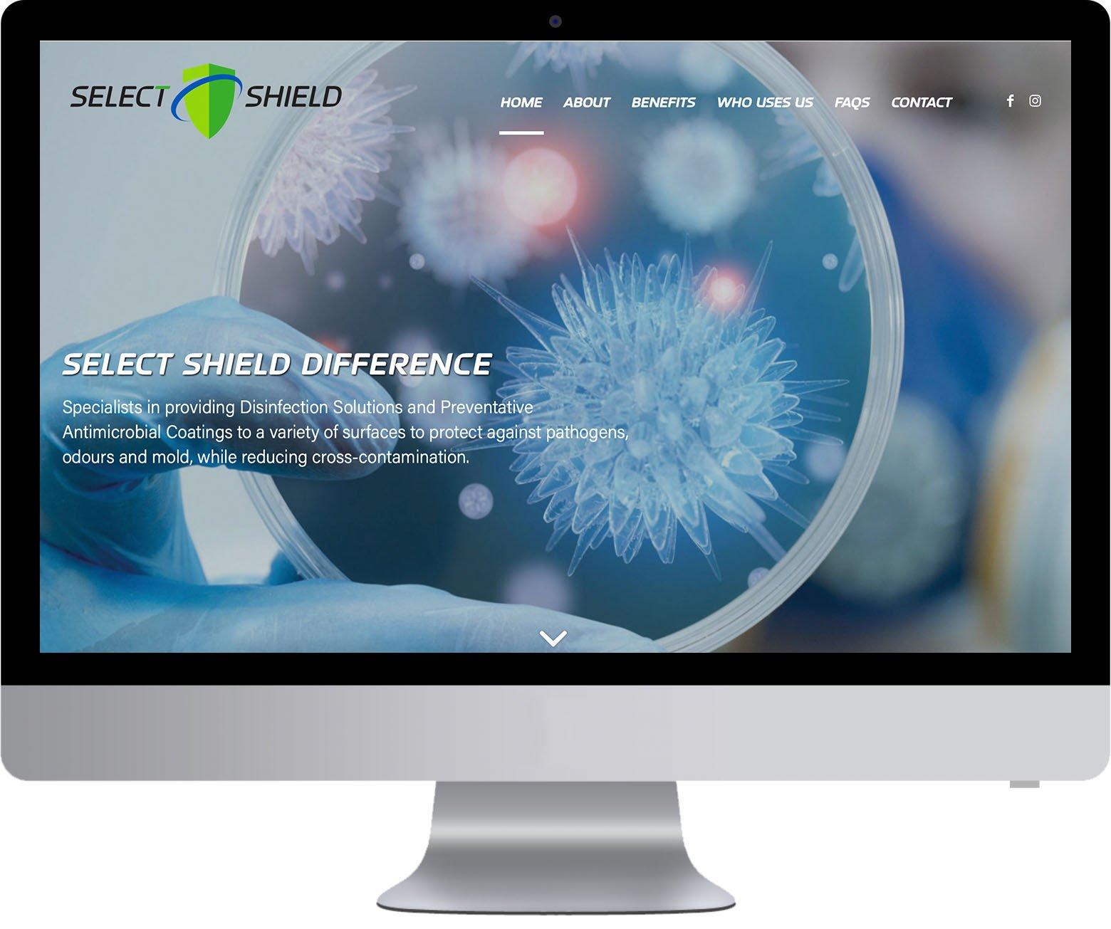 Richmond WordPress Web Development - Select Shield