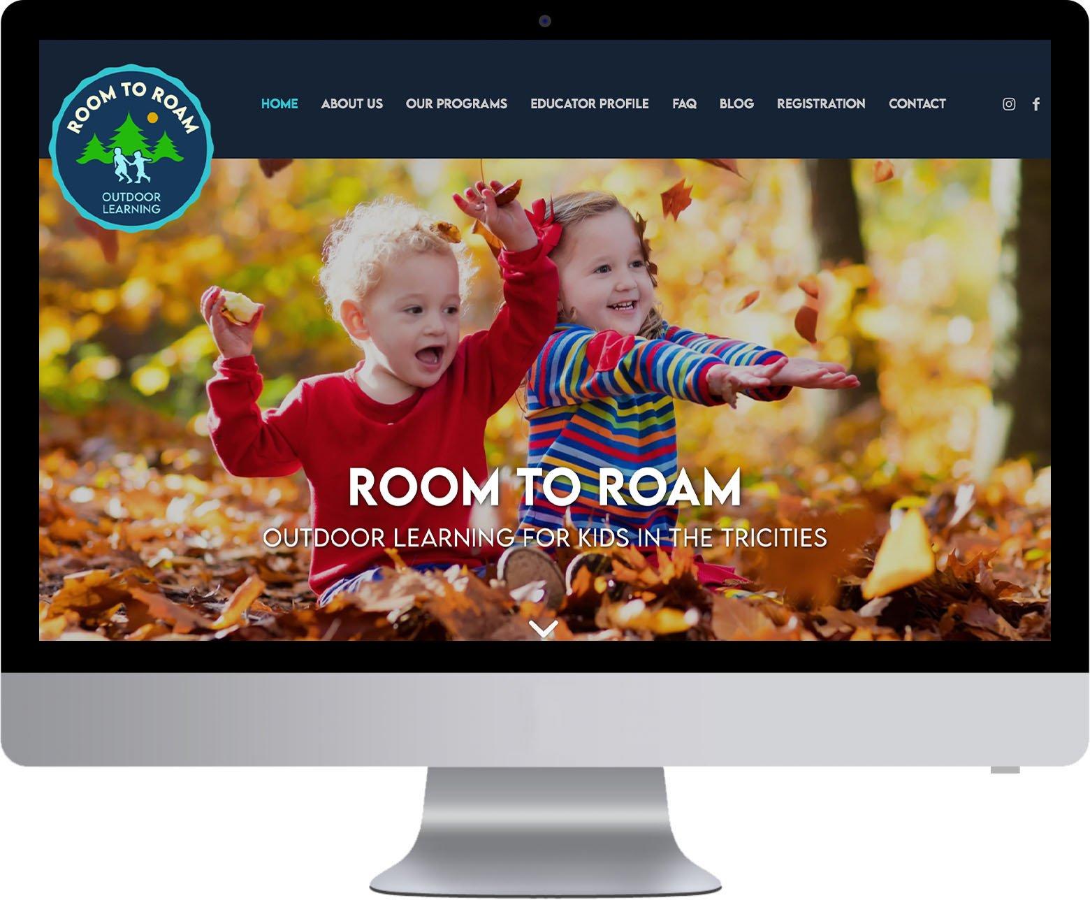 Tricities Web Development - Room to Roam