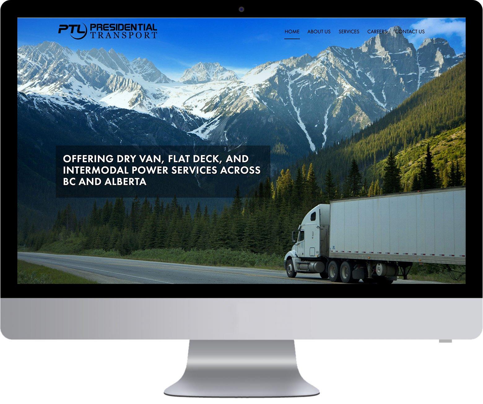 Surrey WordPress Website Development - Presidential Transport